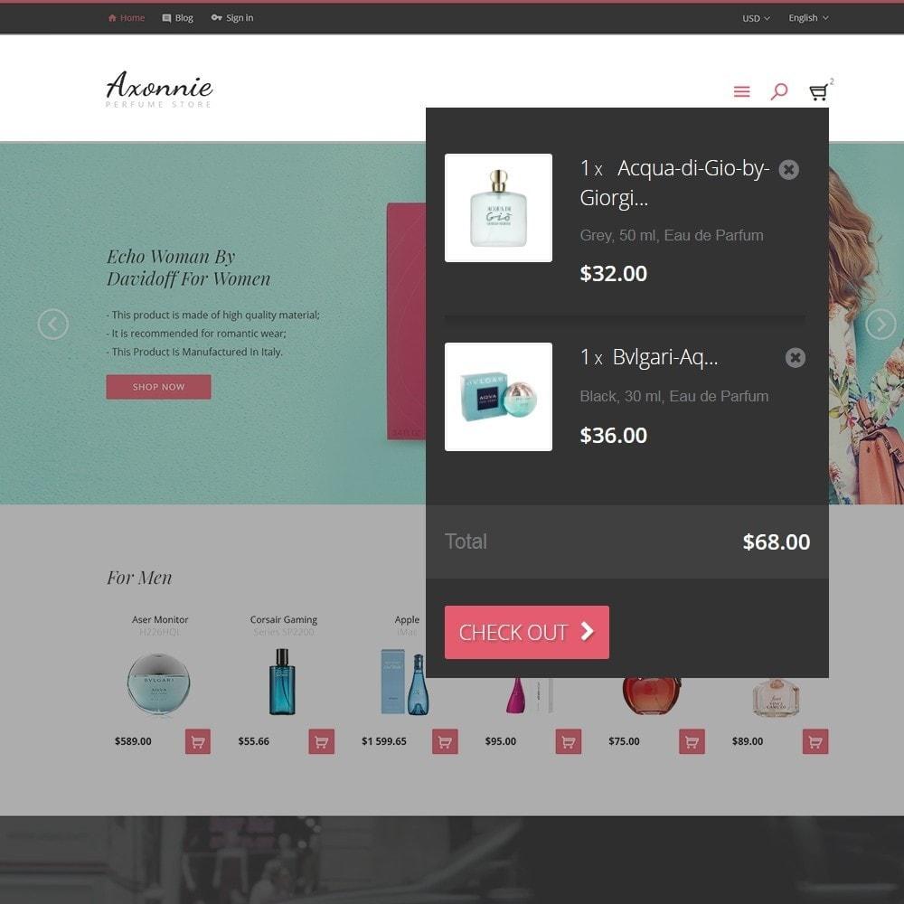 theme - Moda y Calzado - Axonnie - Tema para Sitio de Tienda de Cosméticos - 5