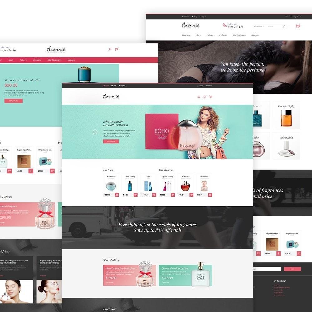 theme - Мода и обувь - Axonnie - PrestaShop шаблон магазинa косметики - 2