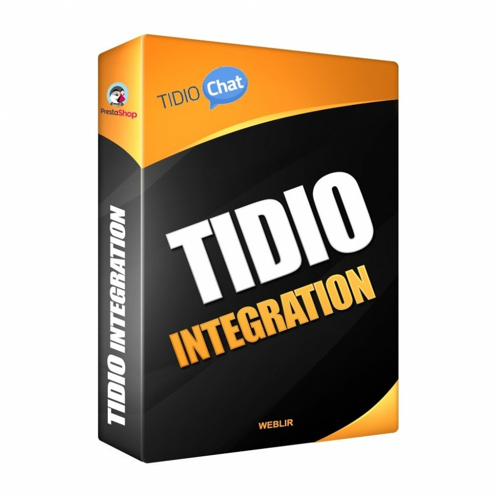 module - Support & Online-Chat - Tidio Integration - Free Livechat Solution - 1