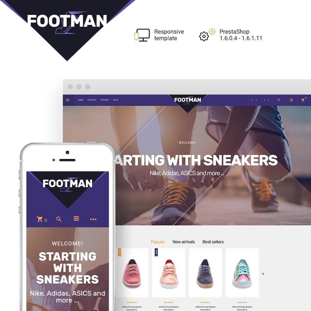theme - Mode & Chaussures - Footman - 1