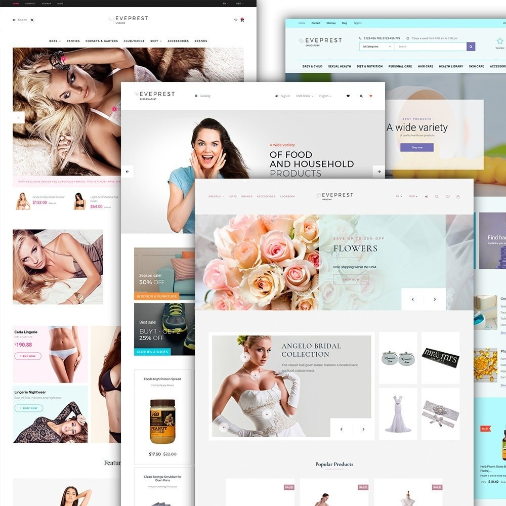 theme - Mode & Schoenen - Eveprest - Multipurpose PrestaShop Theme - 4