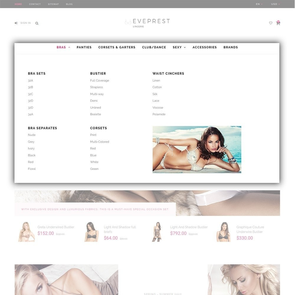 theme - Mode & Schoenen - Eveprest - Multipurpose PrestaShop Theme - 6