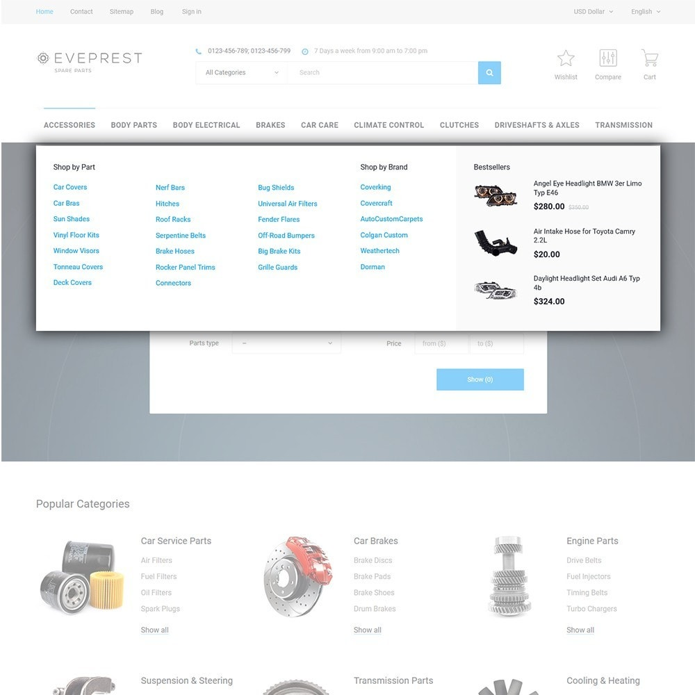 theme - Mode & Schoenen - Eveprest - Multipurpose PrestaShop Theme - 10