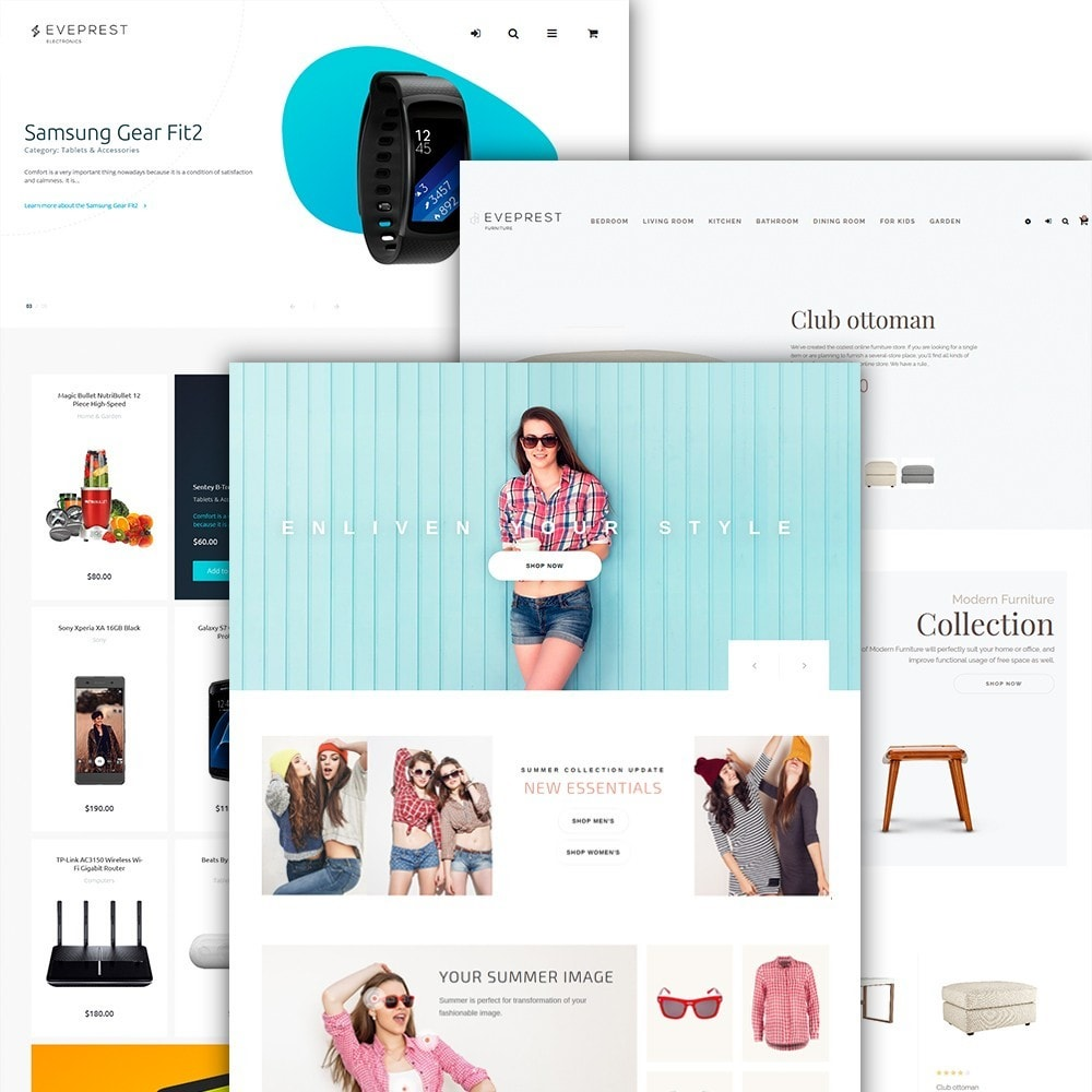 theme - Moda y Calzado - Eveprest - Multipurpose Shop - 3