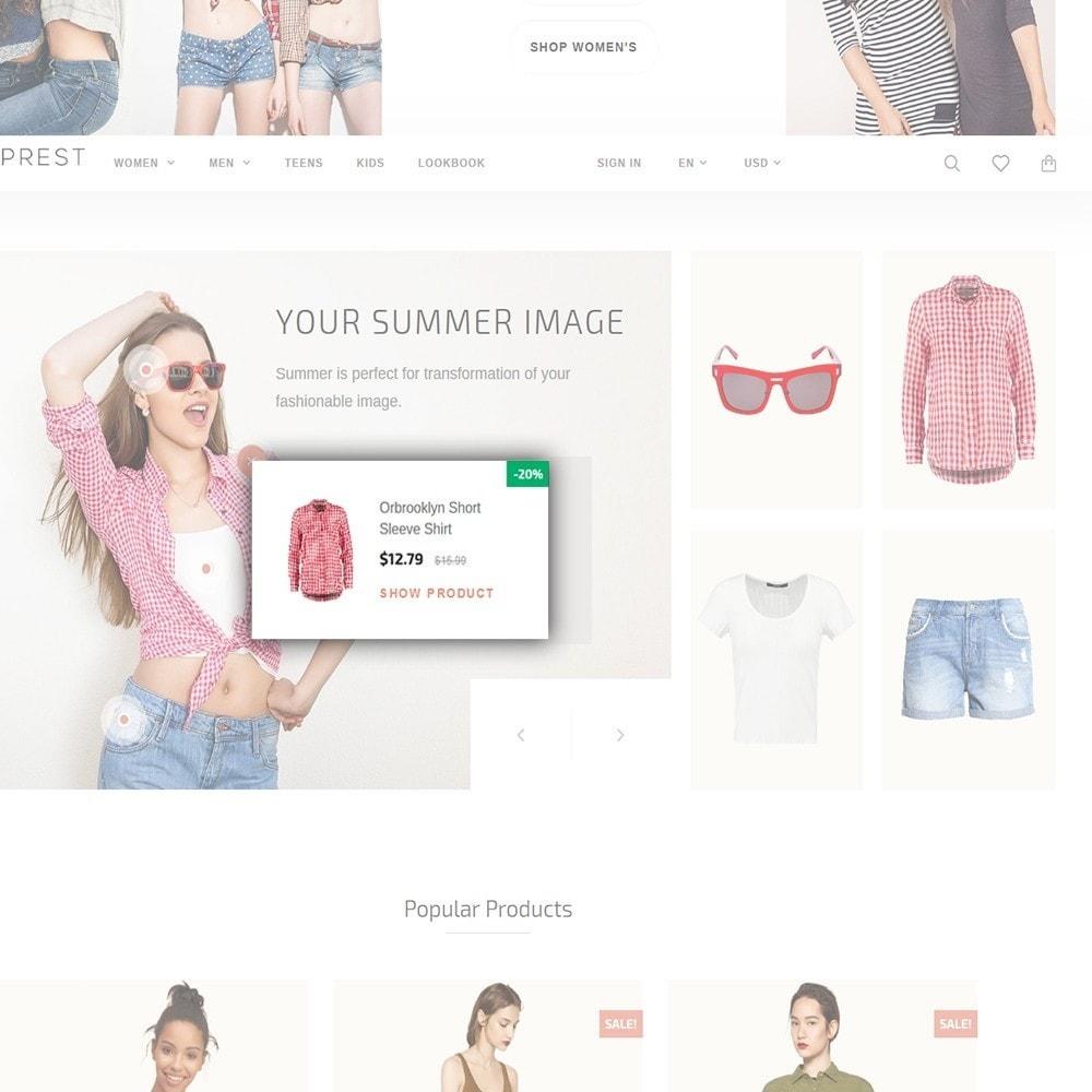 theme - Moda y Calzado - Eveprest - Tema multifuncional de PrestaShop - 8