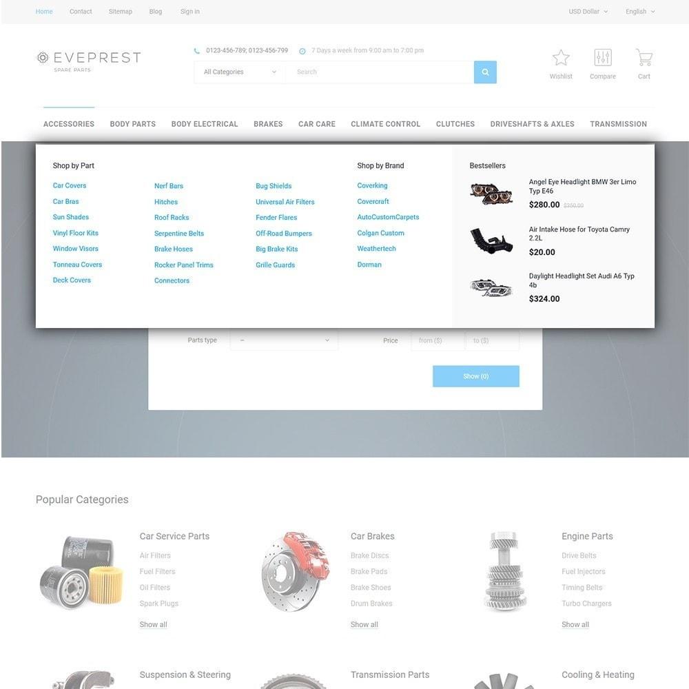 theme - Moda y Calzado - Eveprest - Tema multifuncional de PrestaShop - 11