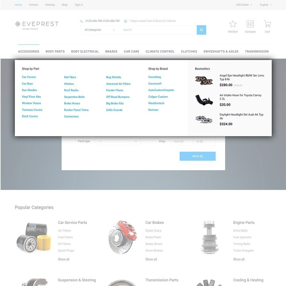 theme - Moda y Calzado - Eveprest - Multipurpose Shop - 10