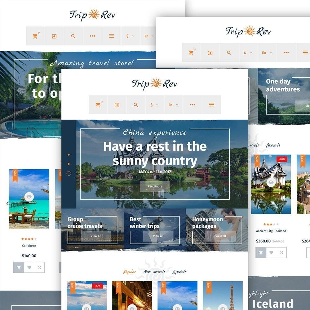 theme - Спорт и Путешествия - TripRev - PrestaShop шаблон на тему путешествия - 3