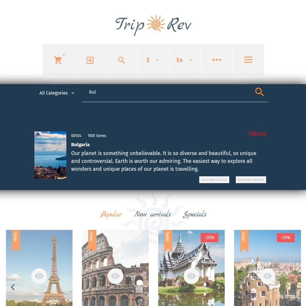 theme - Спорт и Путешествия - TripRev - PrestaShop шаблон на тему путешествия - 6