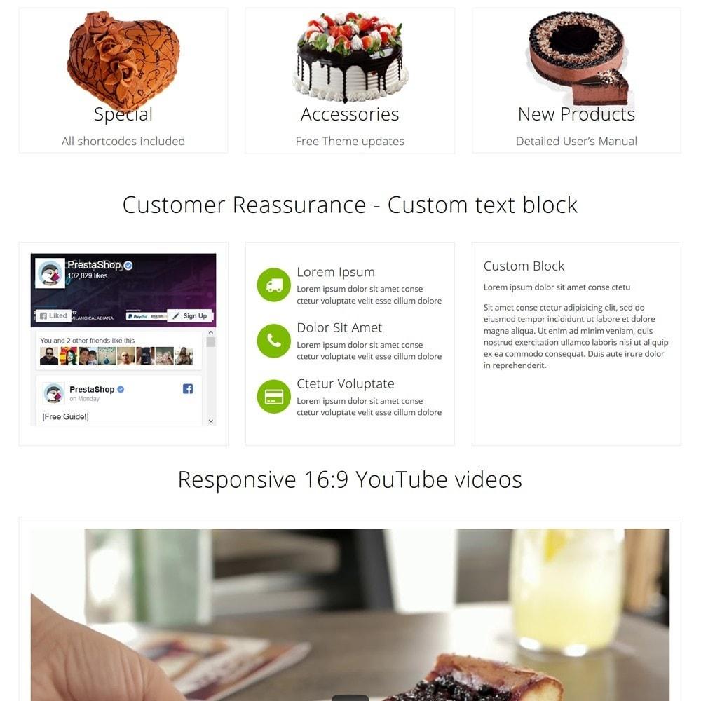 theme - Żywność & Restauracje - CakeShop - 3