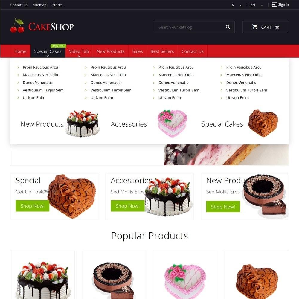 theme - Żywność & Restauracje - CakeShop - 5