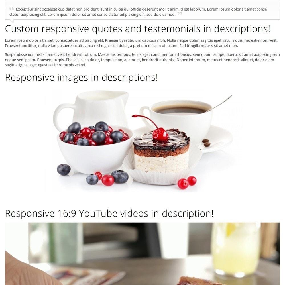 theme - Żywność & Restauracje - CakeShop - 8