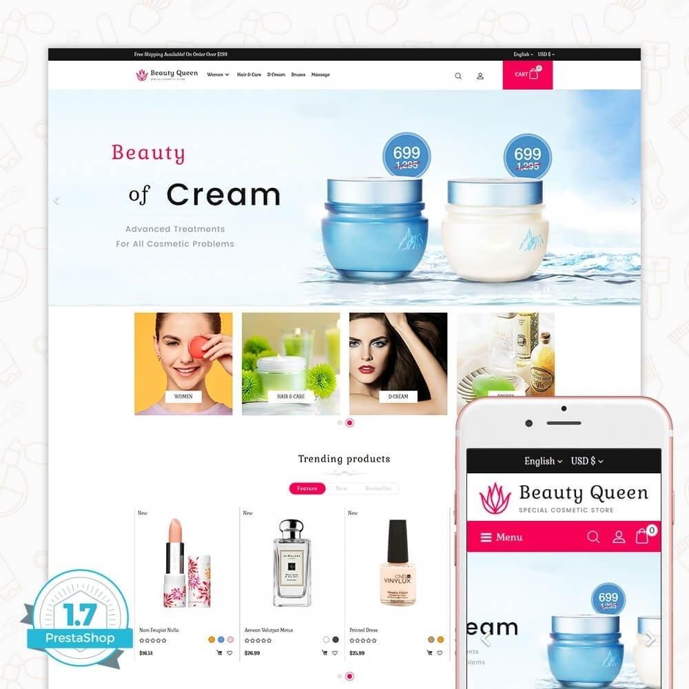 theme - Gezondheid & Schoonheid - Beauty Queen Store - 1