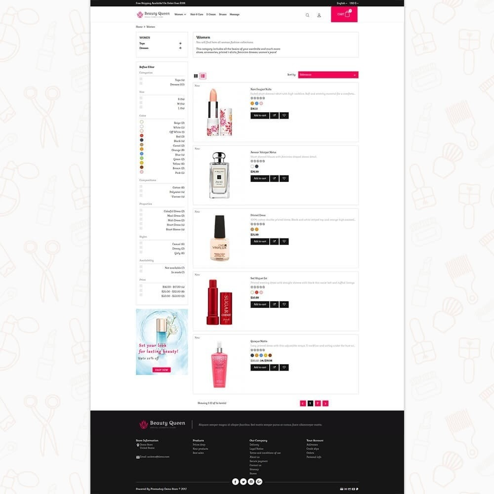 theme - Health & Beauty - Beauty Queen Store - 4