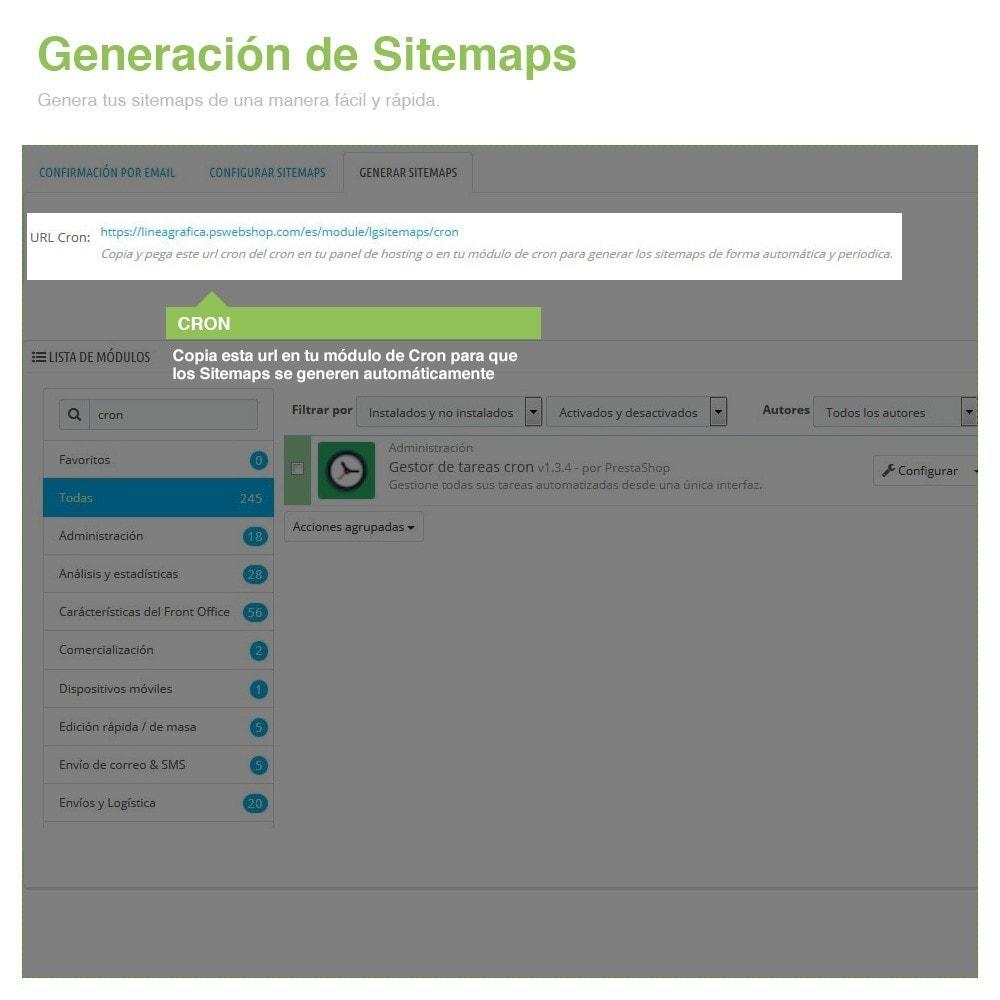 module - SEO (Posicionamiento en buscadores) - Sitemaps Pro Multi-Idiomas y Multi-Tiendas - SEO - 9