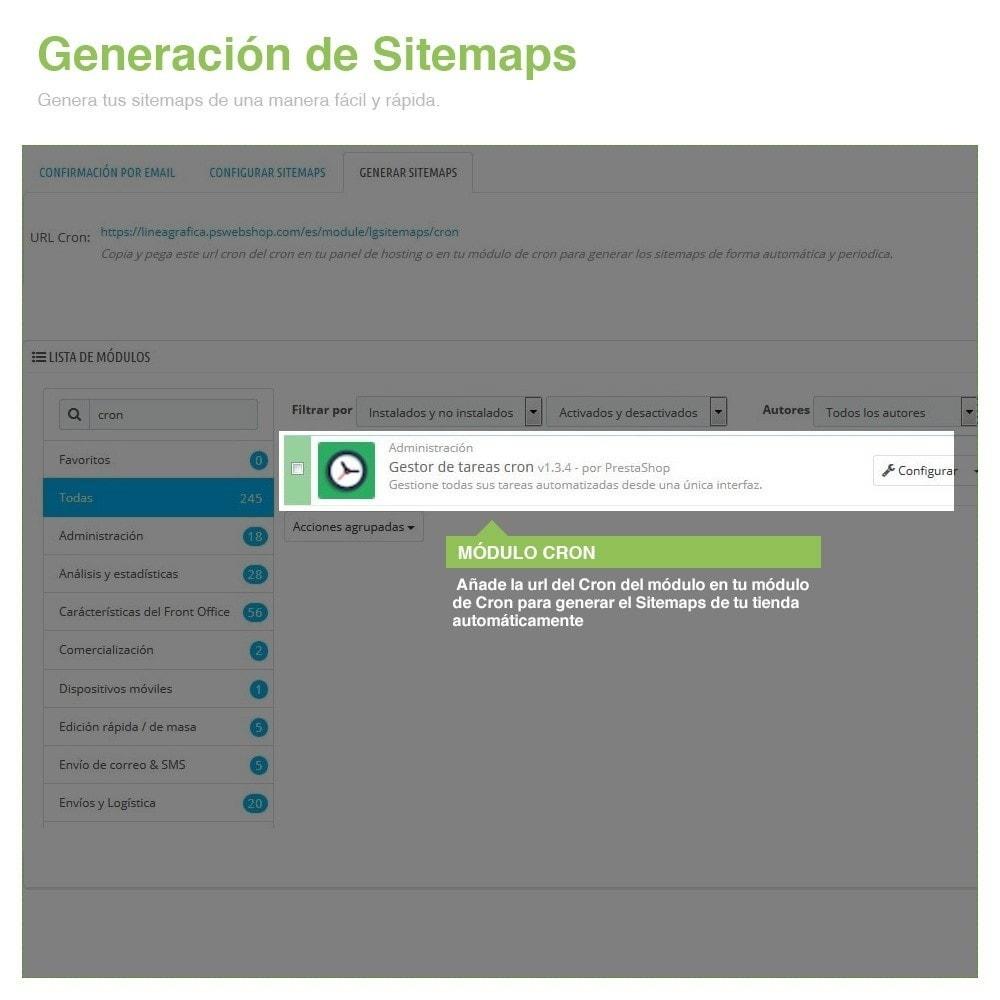 module - SEO (Posicionamiento en buscadores) - Sitemaps Pro Multi-Idiomas y Multi-Tiendas - SEO - 10
