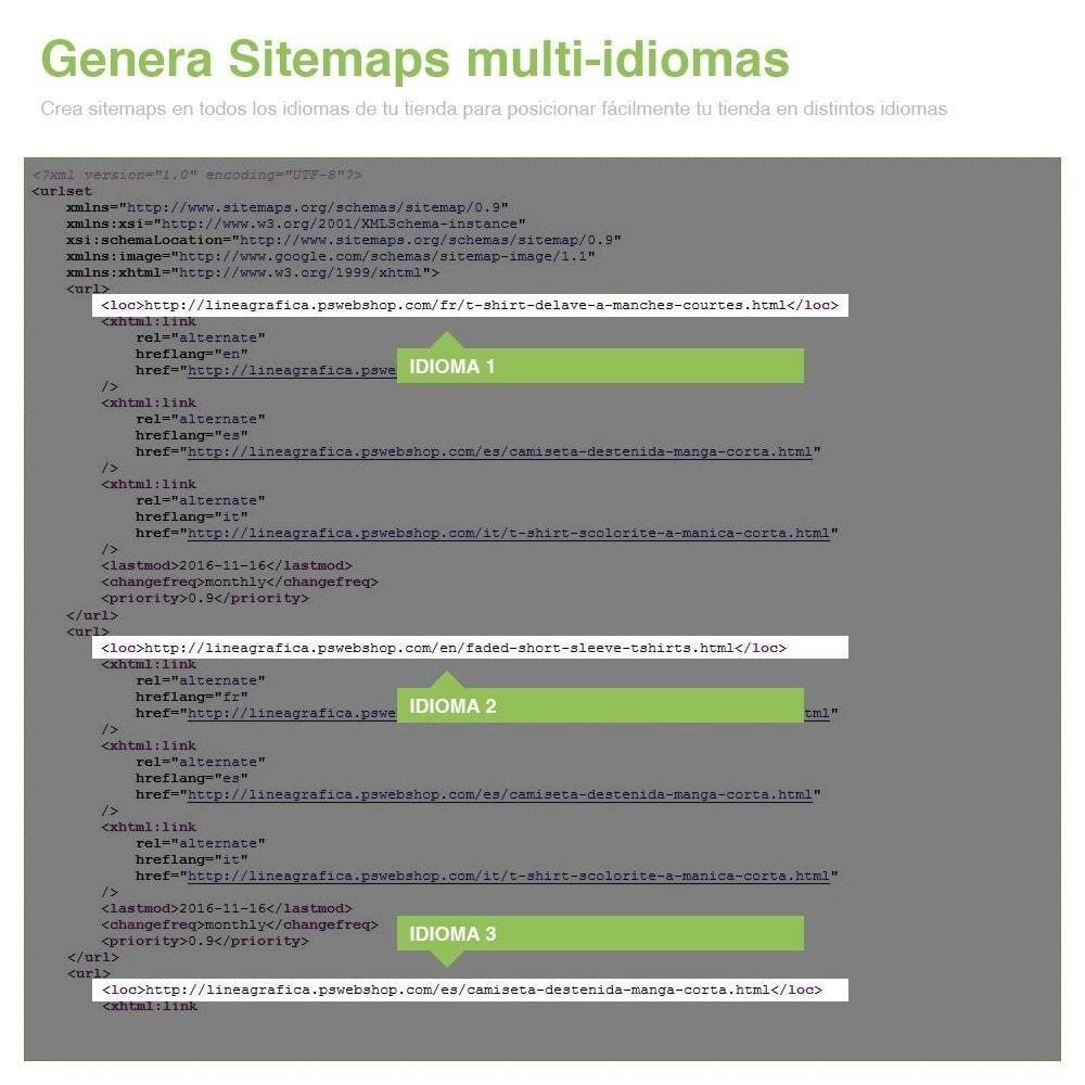 module - SEO (Posicionamiento en buscadores) - Sitemaps Pro Multi-Idiomas y Multi-Tiendas - SEO - 13