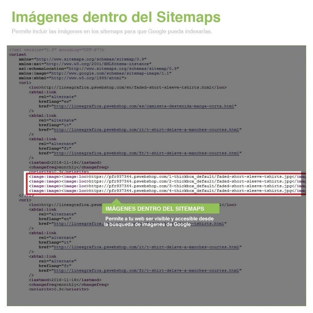 module - SEO (Posicionamiento en buscadores) - Sitemaps Pro Multi-Idiomas y Multi-Tiendas - SEO - 14
