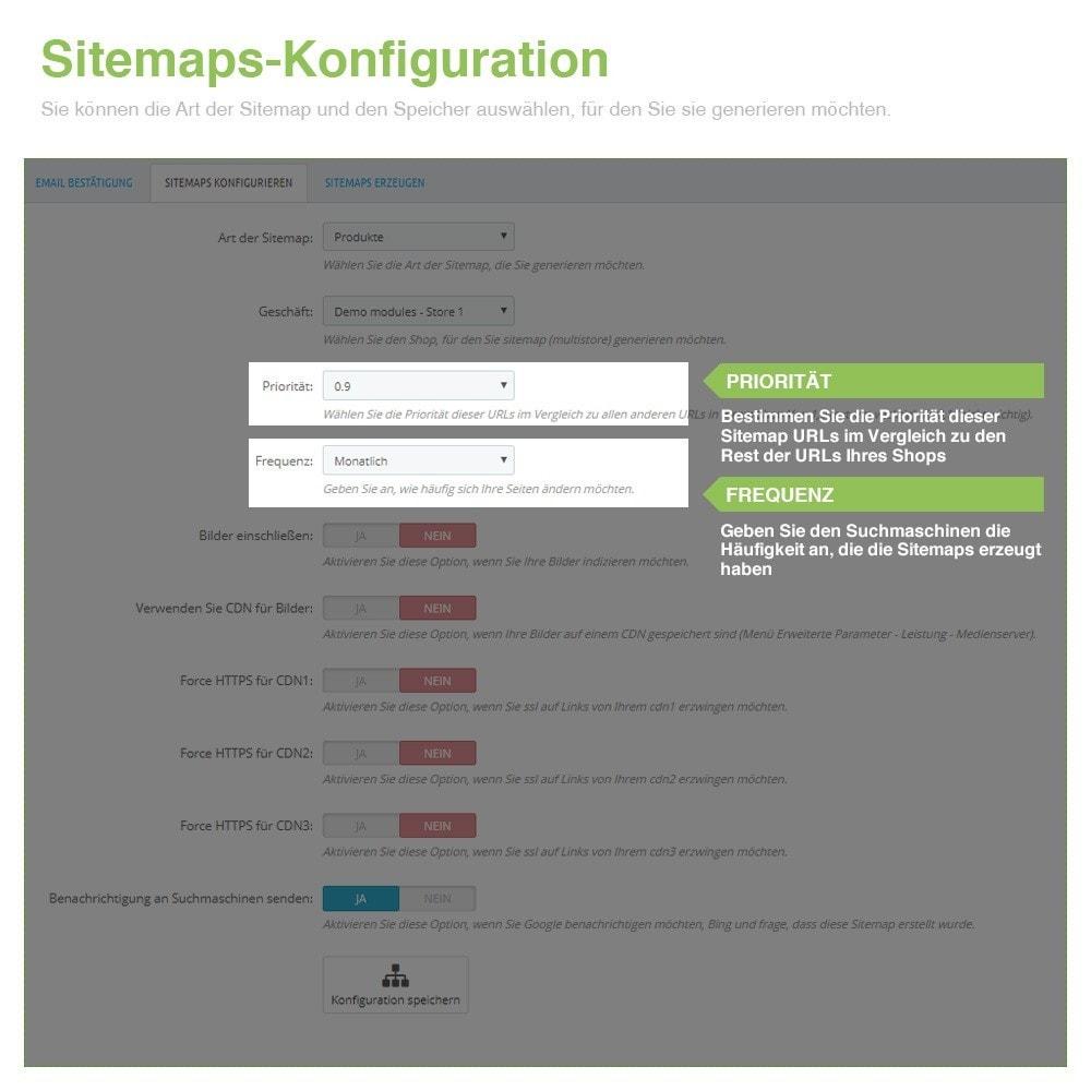 module - SEO - Multisprach und Multishop Sitemap Pro - SEO - 3