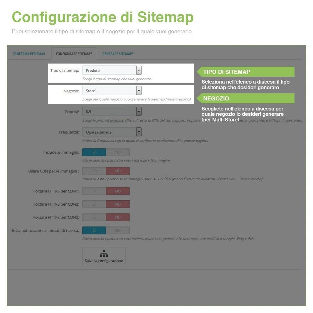 module - SEO (Indicizzazione naturale) - Sitemaps Pro Multi-Lingue e Multi-Negozio - SEO - 2