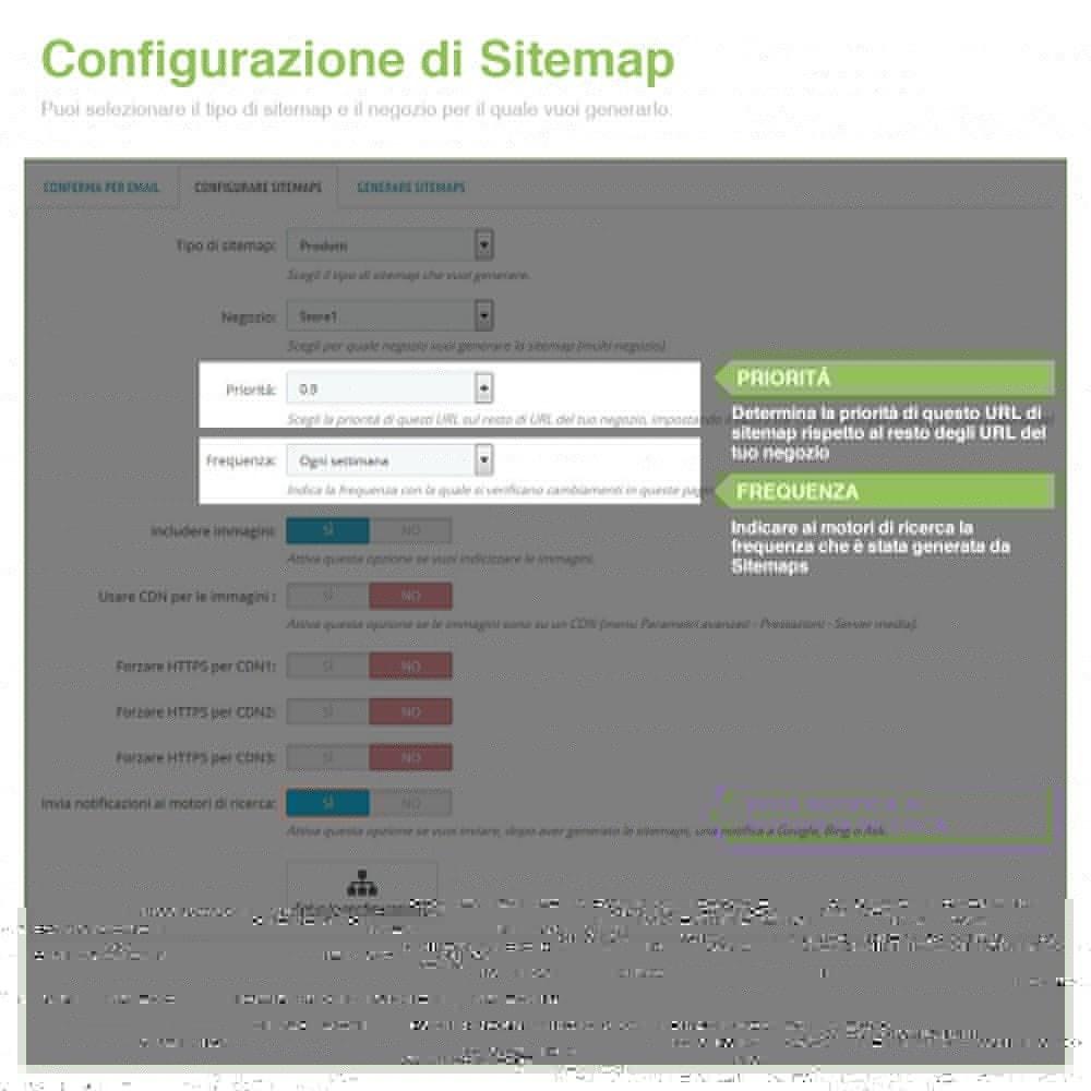 module - SEO (Indicizzazione naturale) - Sitemaps Pro Multi-Lingue e Multi-Negozio - SEO - 4