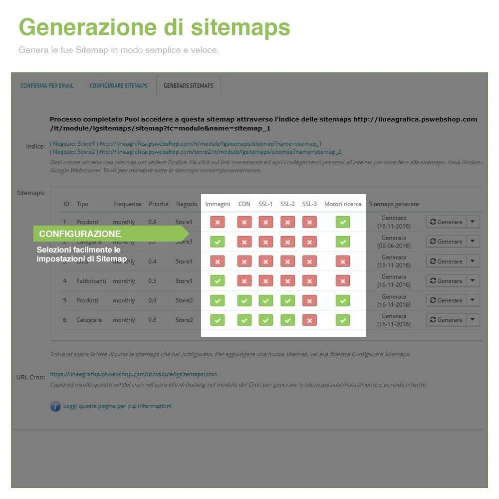 module - SEO (Indicizzazione naturale) - Sitemaps Pro Multi-Lingue e Multi-Negozio - SEO - 8