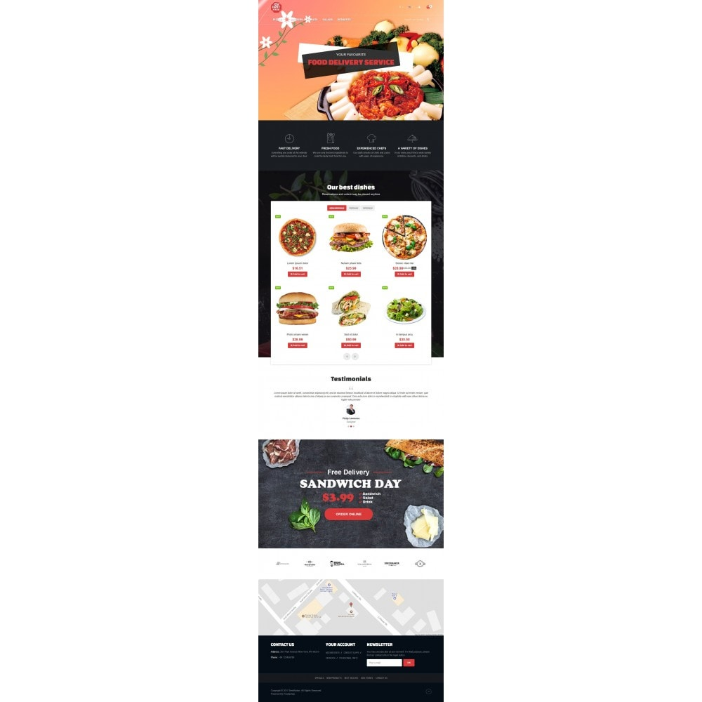theme - Food & Restaurant - VP_Fastfood Store - 2