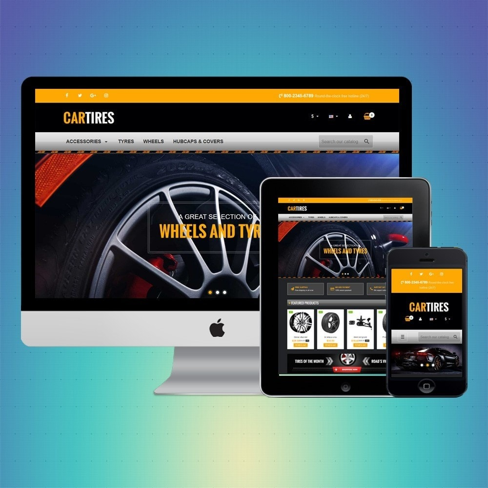 theme - Automotive & Cars - VP_Cartires Store - 1