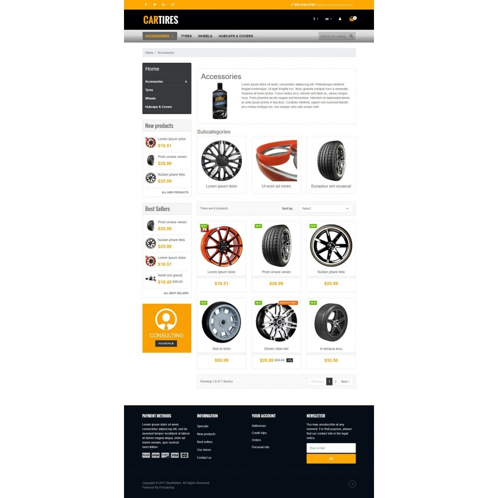 theme - Automotive & Cars - VP_Cartires Store - 3