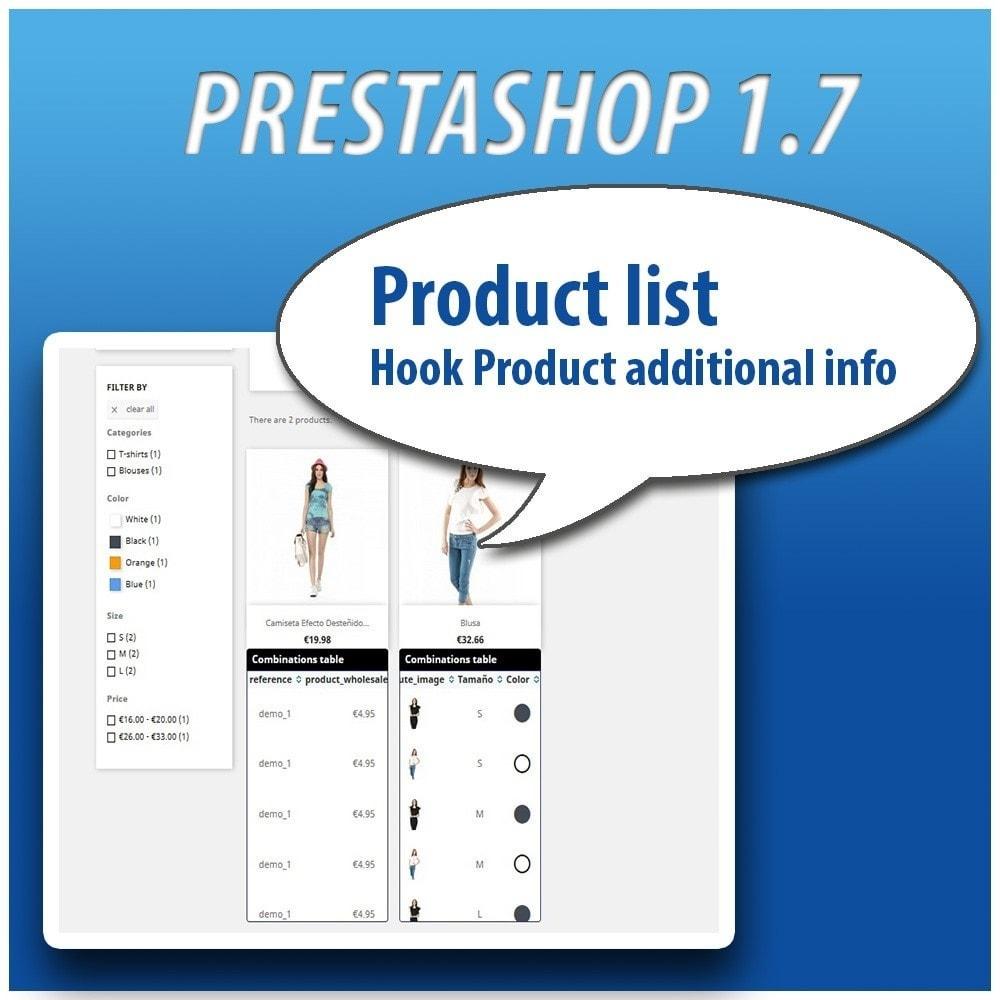 module - Combinaciones y Personalización de productos - Combinations Table PRO - 14