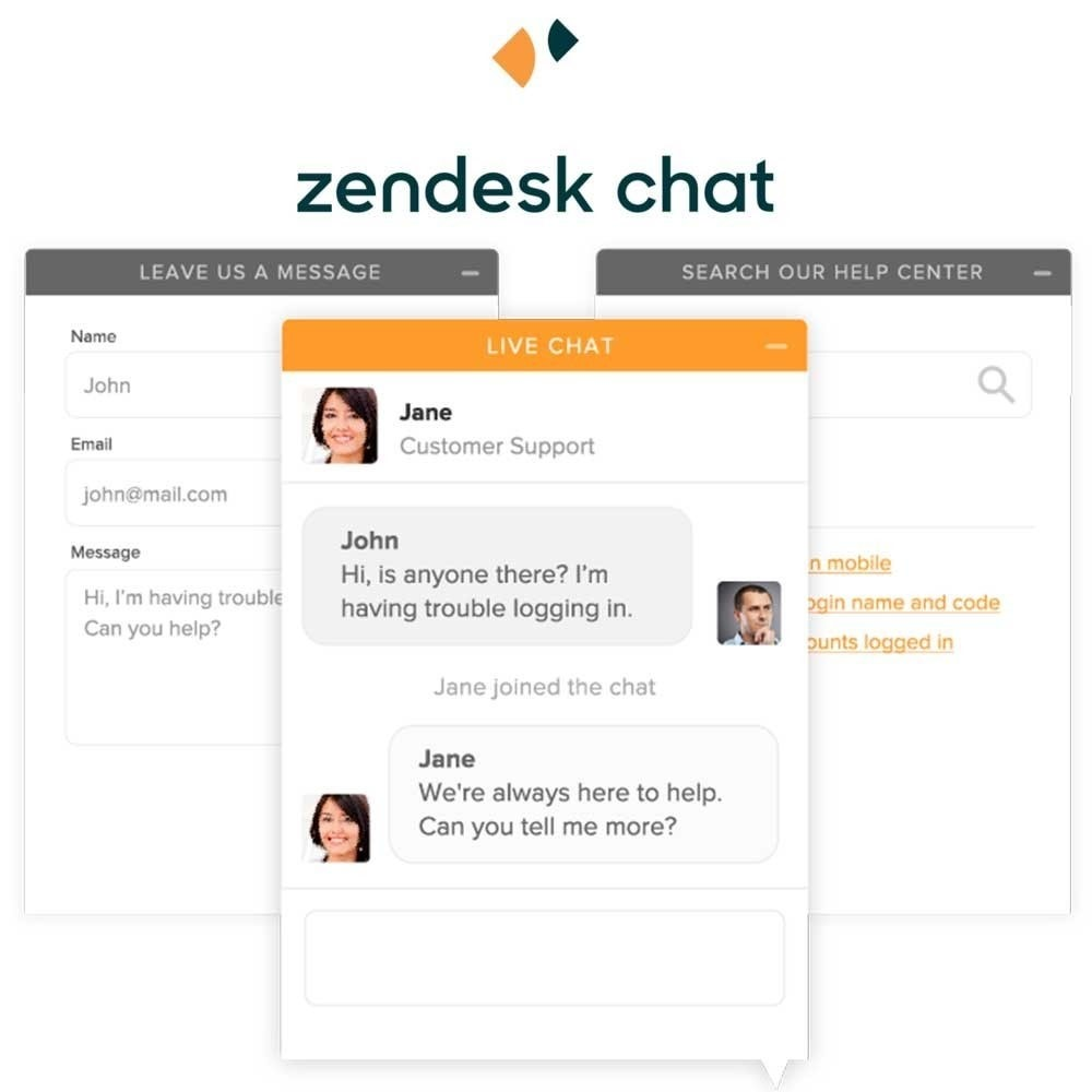 module - Supporto & Chat online - Art Zendesk Chat formely Zopim - 2