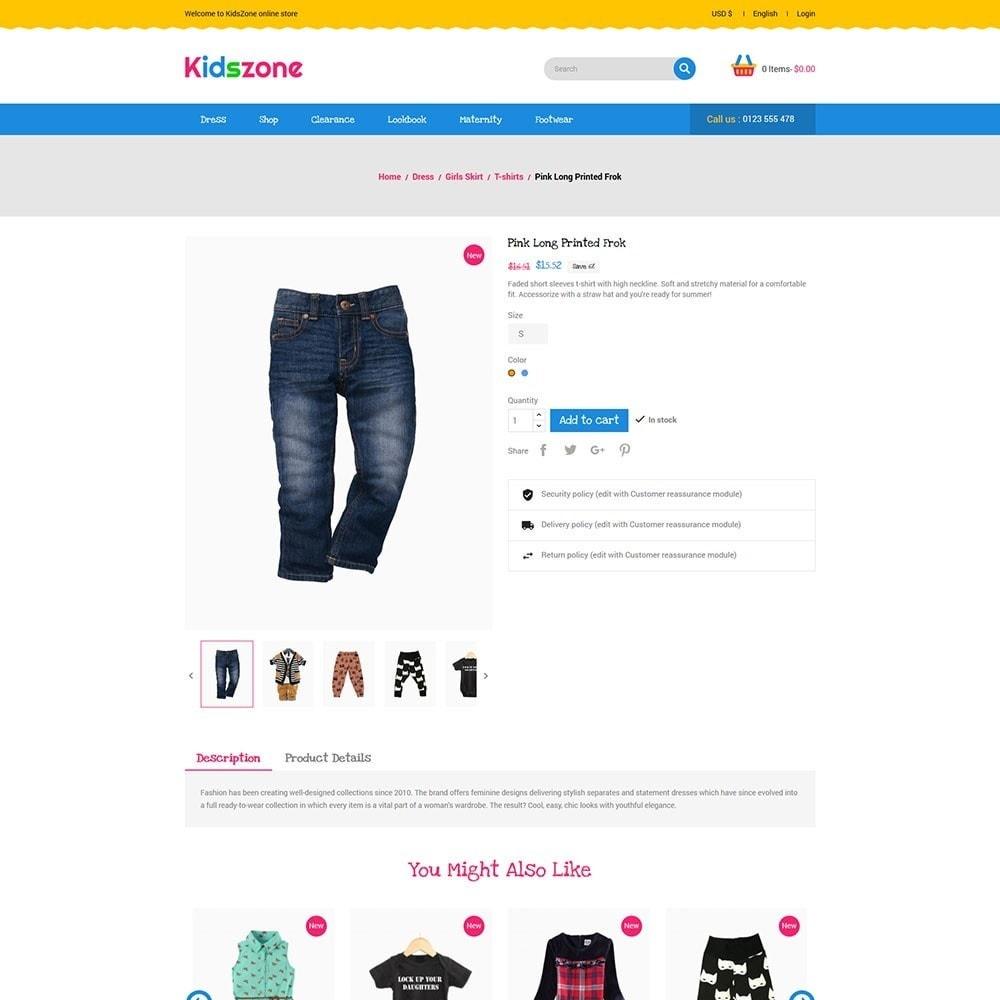 theme - Kids & Toys - KidsZone - Kids Store - 5