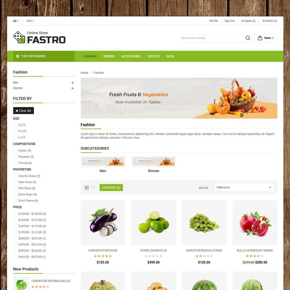 theme - Lebensmittel & Restaurants - Fastro Grocery Store - 3