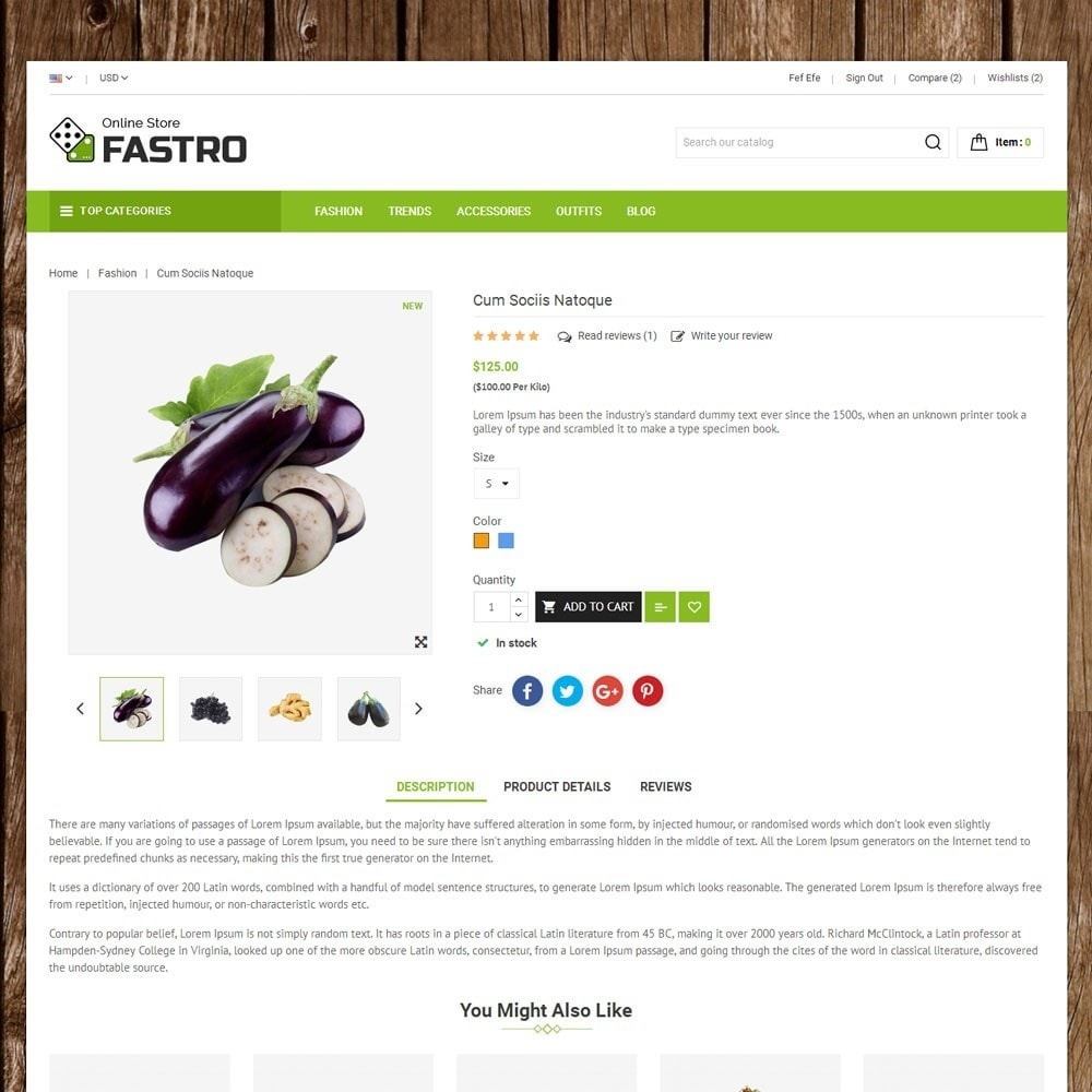 theme - Lebensmittel & Restaurants - Fastro Grocery Store - 5
