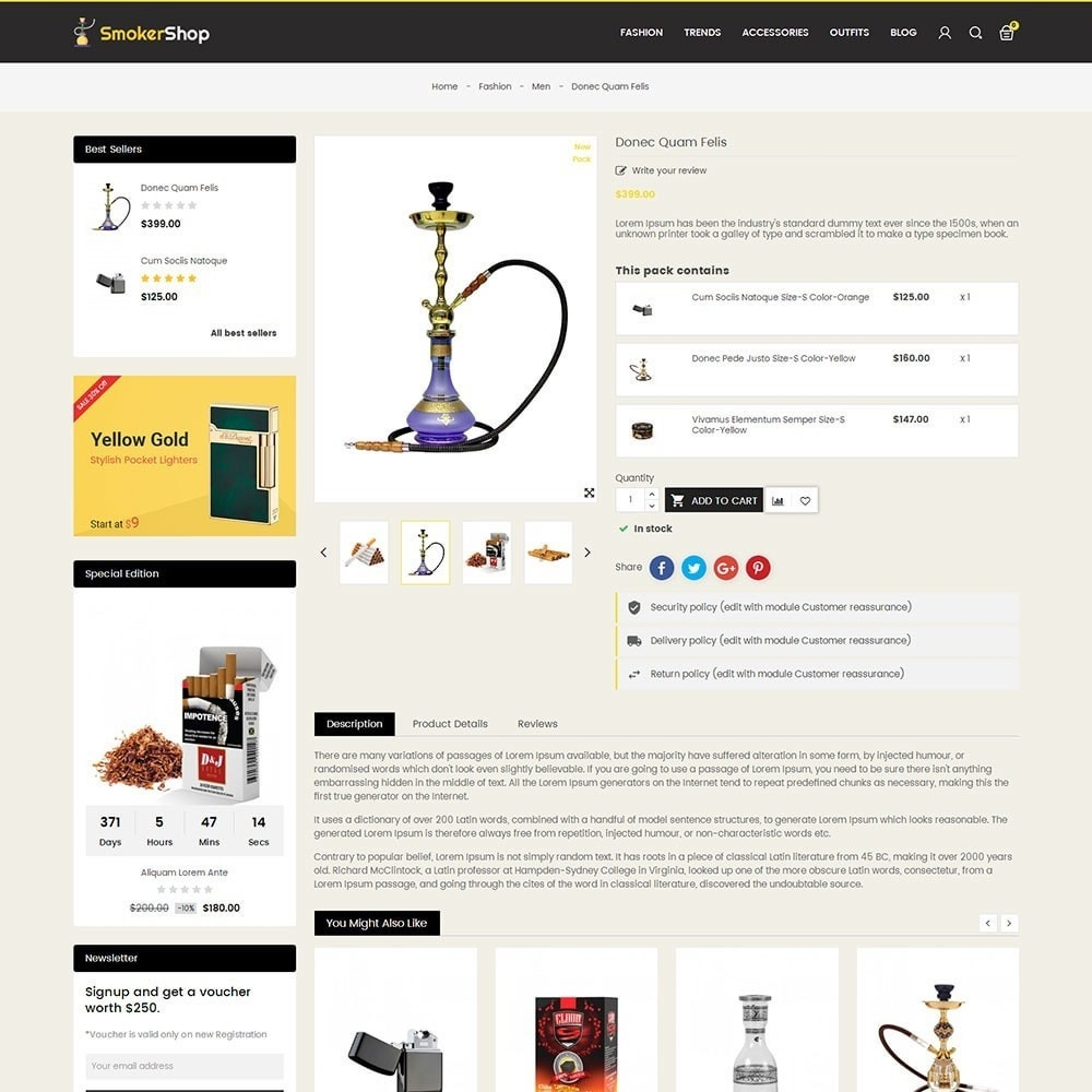 theme - Boissons & Tabac - Smoker Store - 5