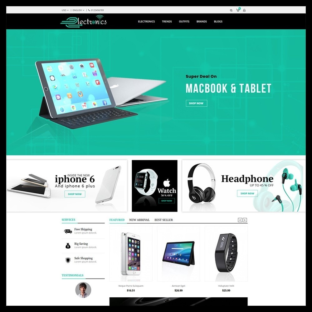theme - Electronique & High Tech - Electronics Store - 2
