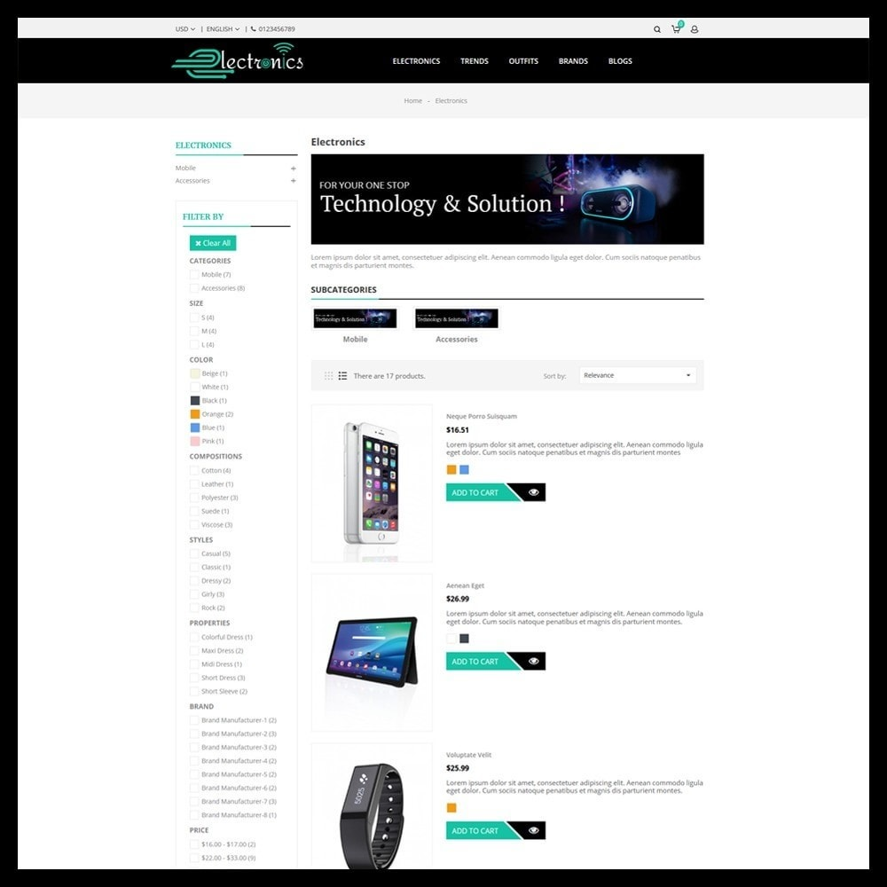 theme - Electronics & Computers - Electronics Store - 4