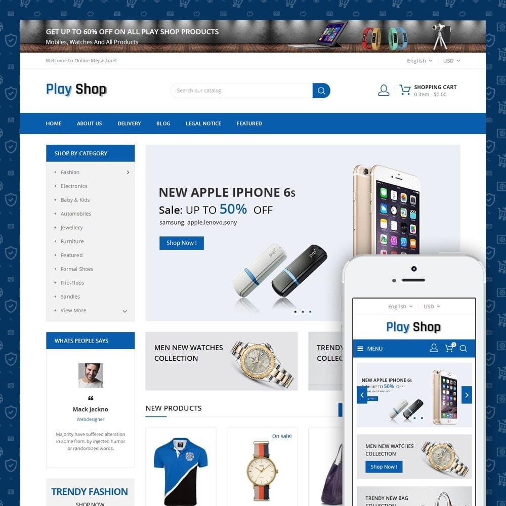 theme - Elettronica & High Tech - Play Shop - Mega Store - 1