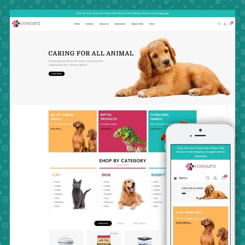 theme - Animaux - PawPurrz - Pets Store - 1