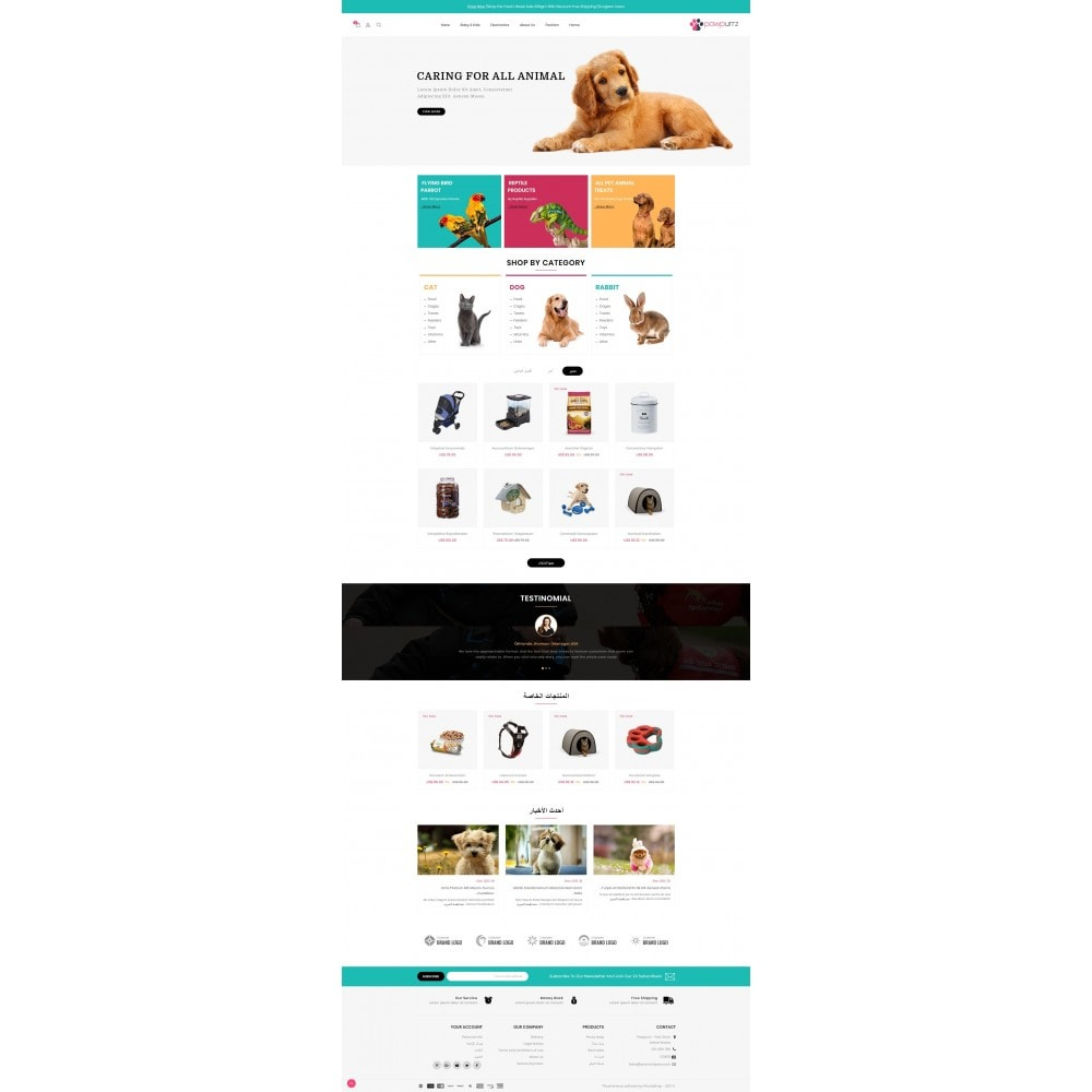 theme - Animals & Pets - PawPurrz - Pets Store - 10
