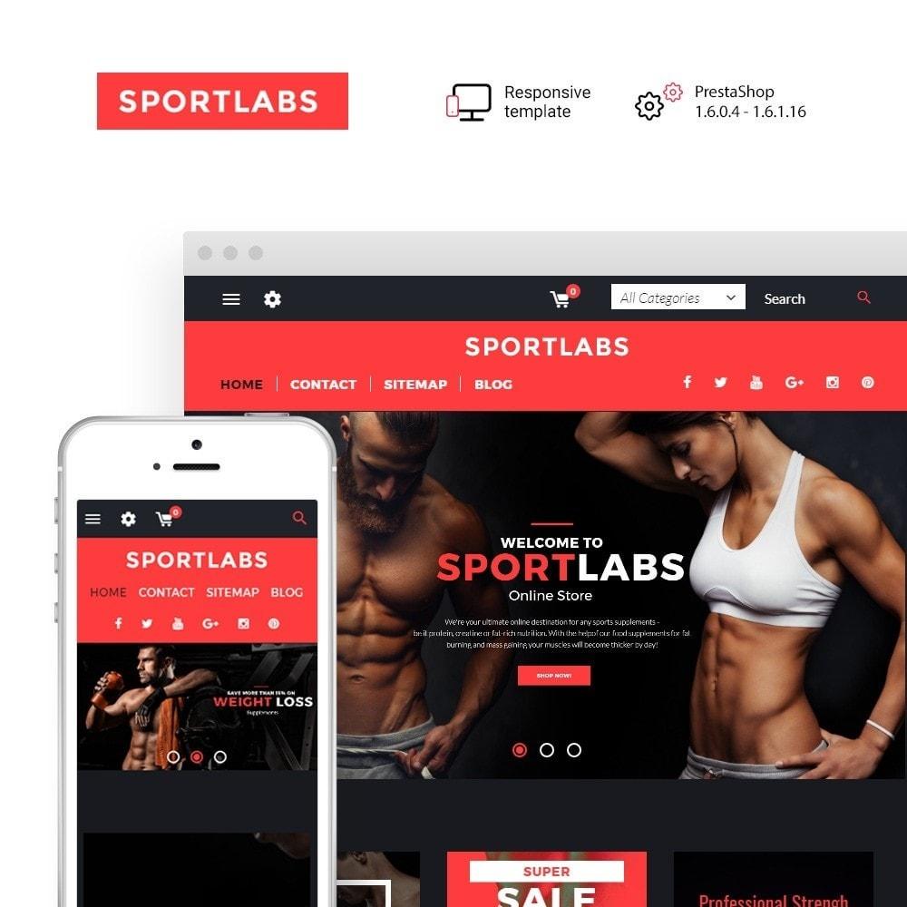 theme - Deportes, Actividades y Viajes - SportLabs - 1
