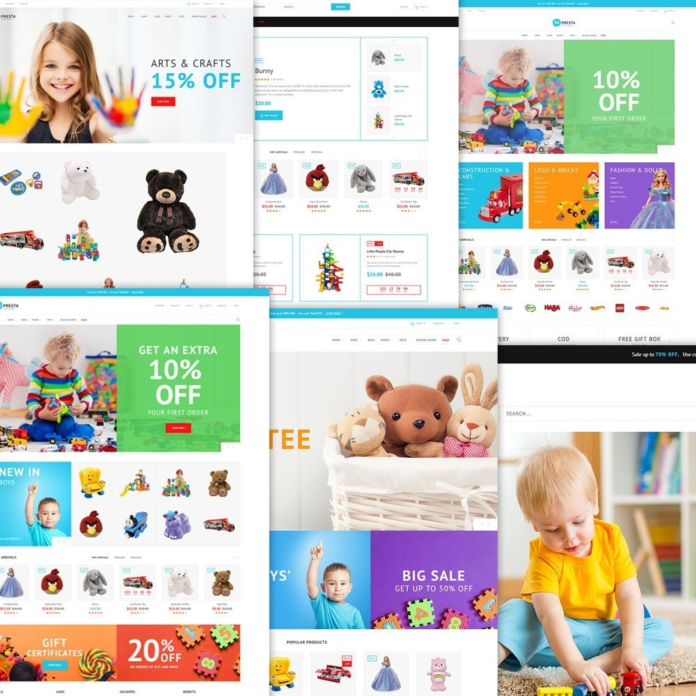 theme - Niños y Juguetes - Impresta - Kids Store - 2