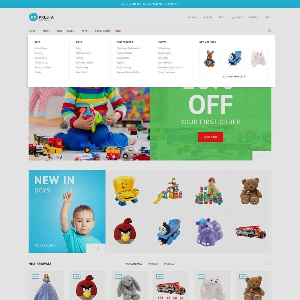 theme - Zabawki & Artykuły dziecięce - Impresta - Kids Store - 4