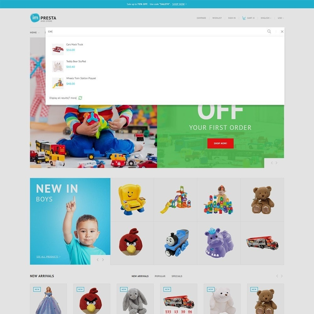 theme - Zabawki & Artykuły dziecięce - Impresta - Kids Store - 6