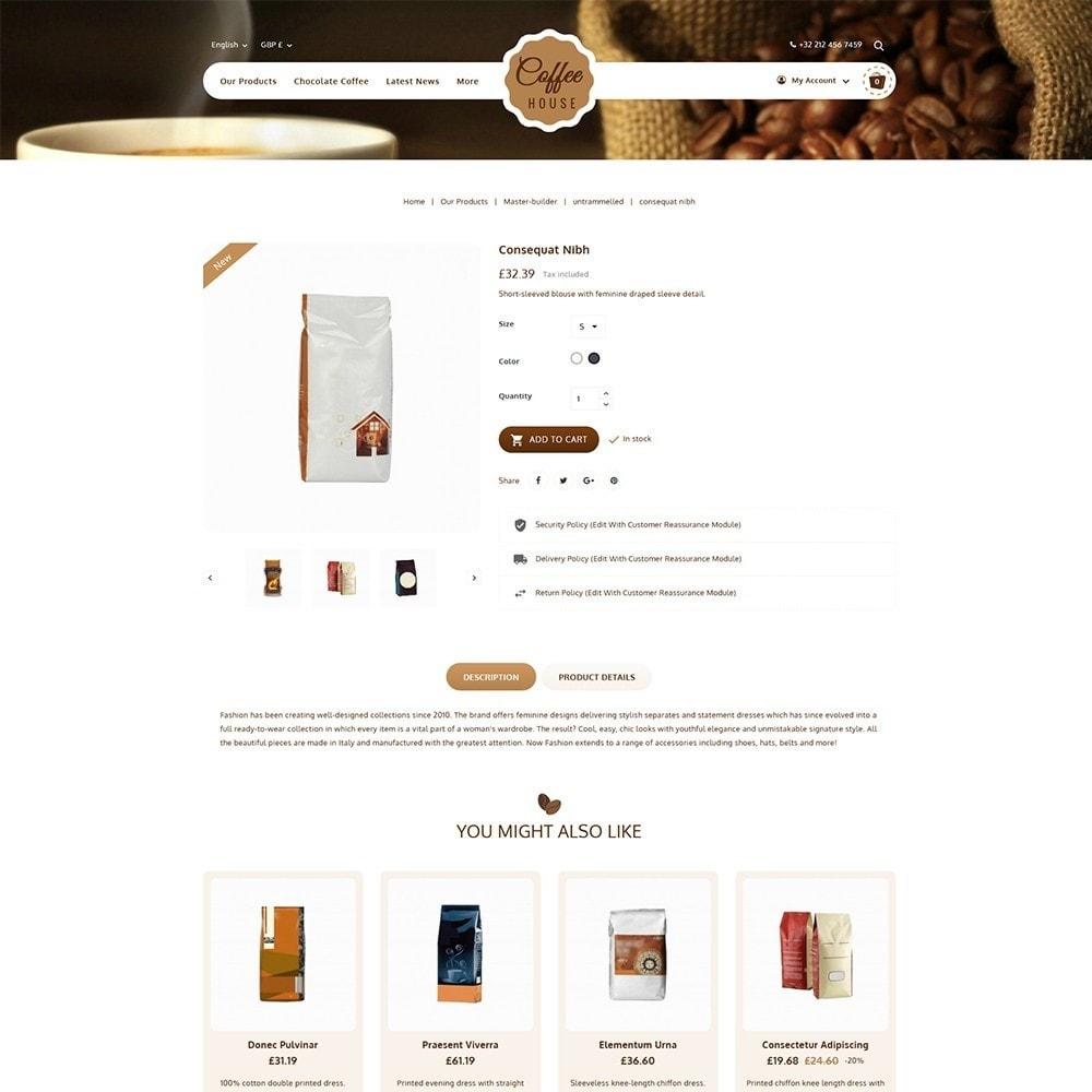 theme - Lebensmittel & Restaurants - Coffeehouse Beverage Store - 5