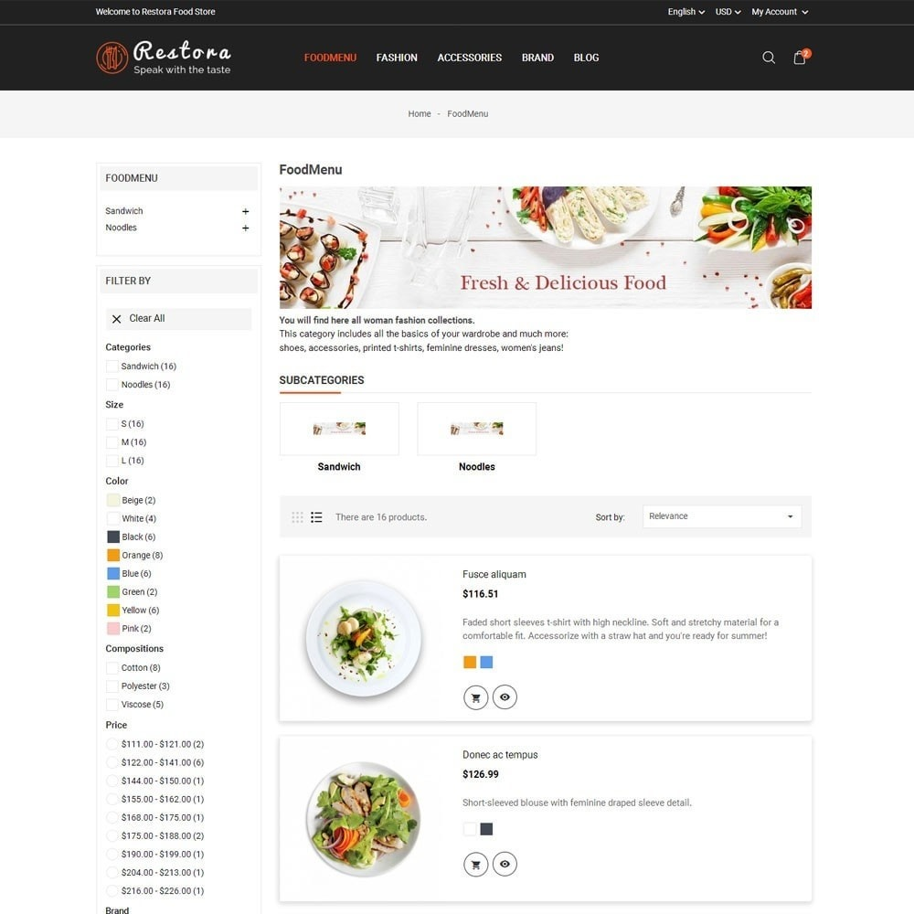 theme - Eten & Restaurant - Restora Food Store - 6