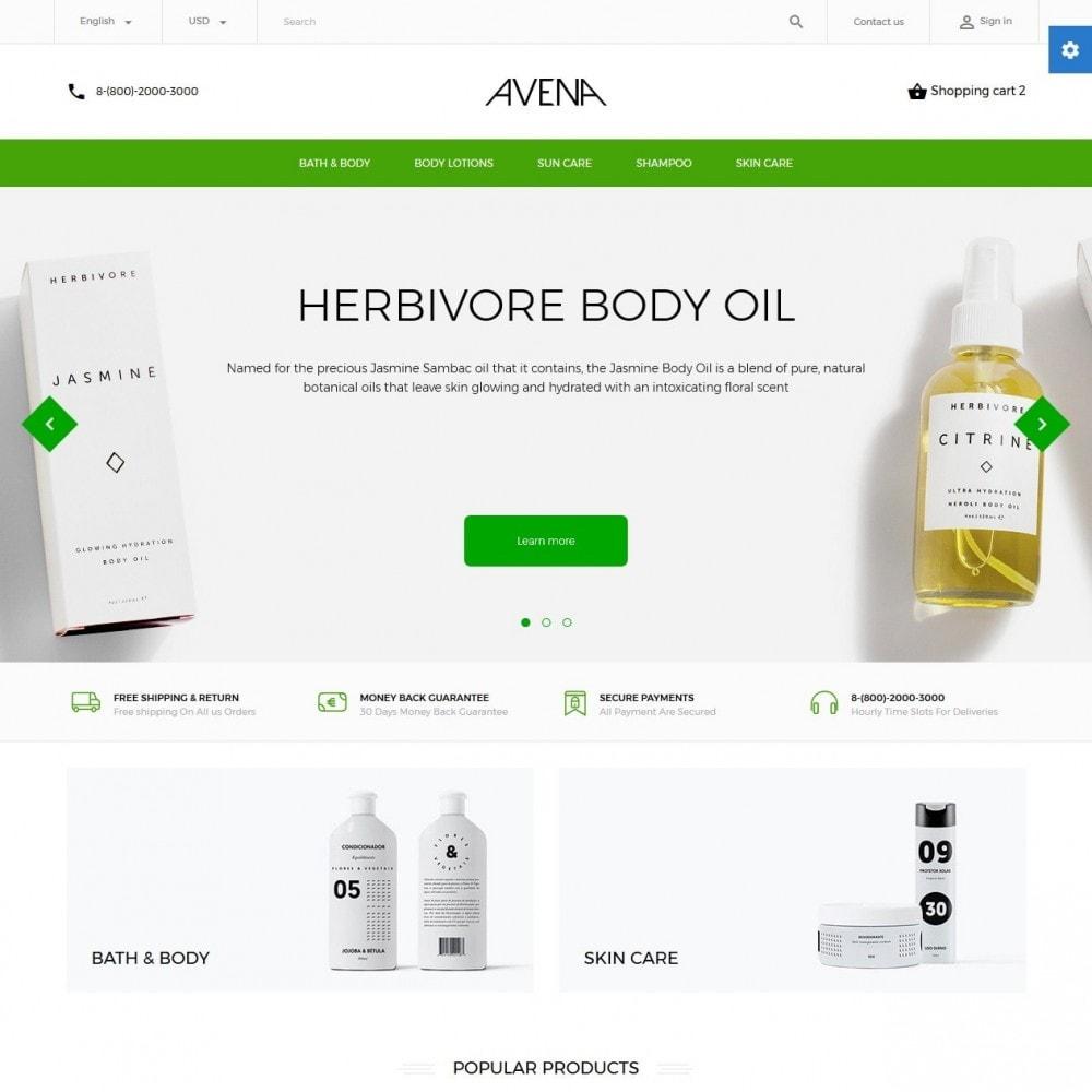 theme - Здоровье и красота - Avena Cosmetics - 2