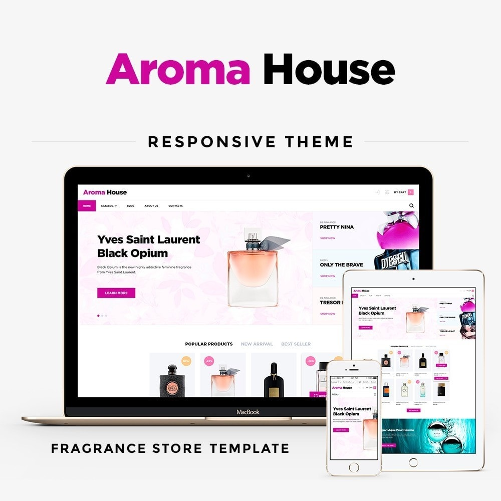 theme - Health & Beauty - Aroma House - 1
