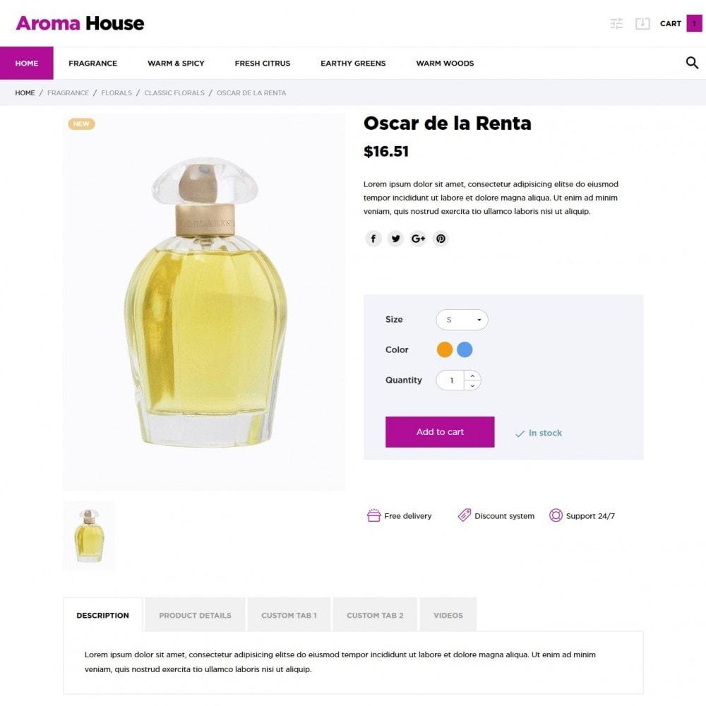theme - Health & Beauty - Aroma House - 6