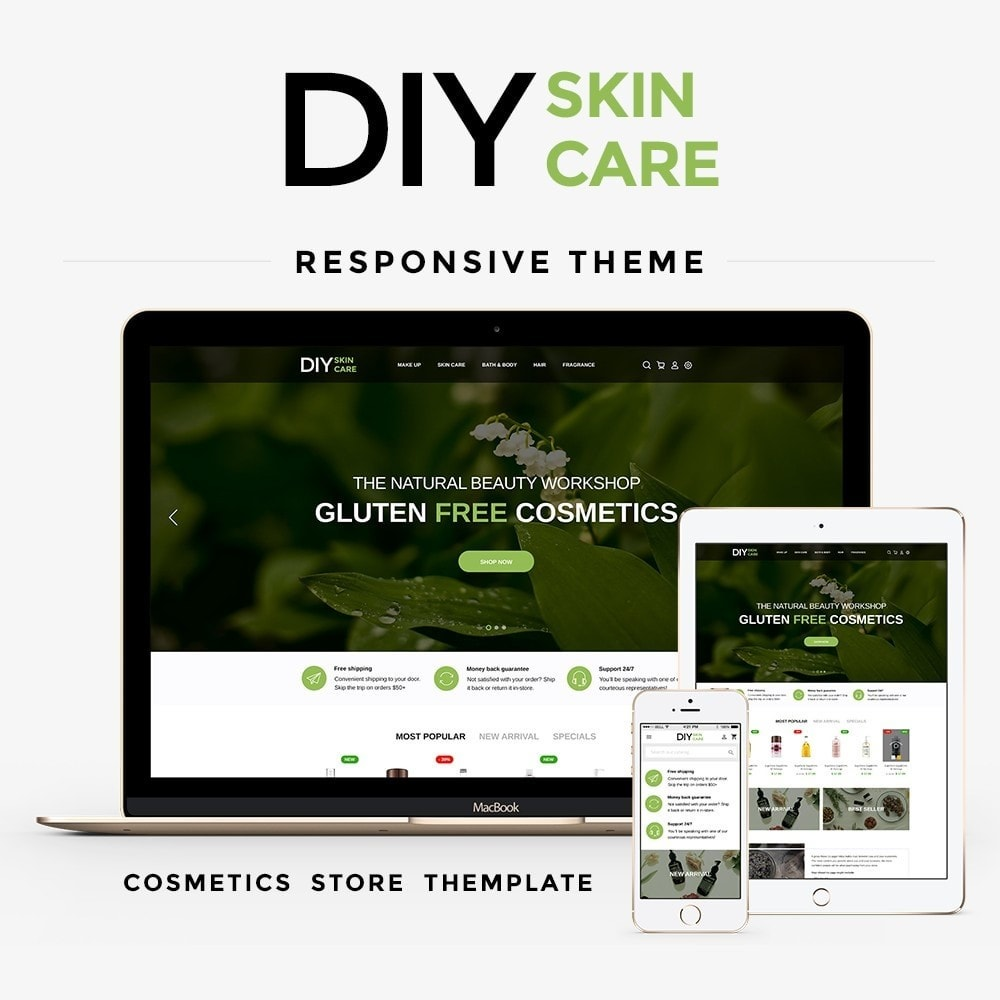 theme - Health & Beauty - DIY skin care Cosmetics - 1